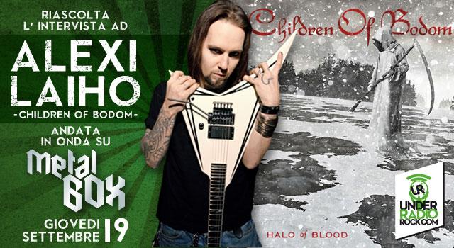 Intervista ad alexi Laiho Children of Bodom interview