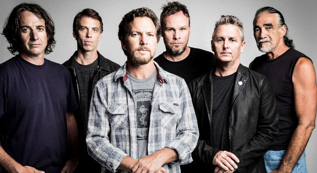 Pearl Jam Line up 2013