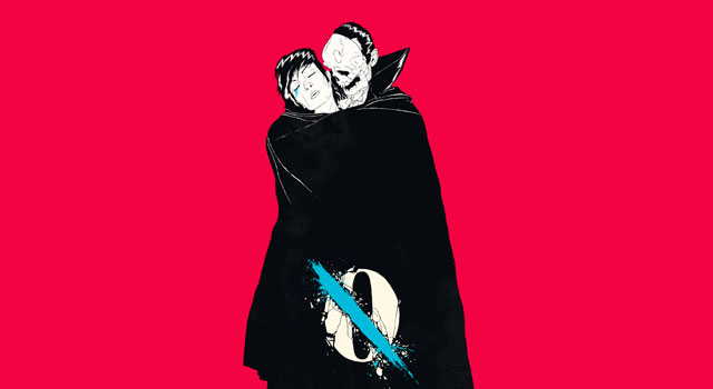 Queens Of The Stone Age Like Clockwork Album Cover