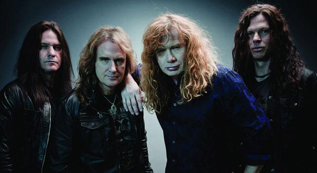 Megadeth Line Up 2013